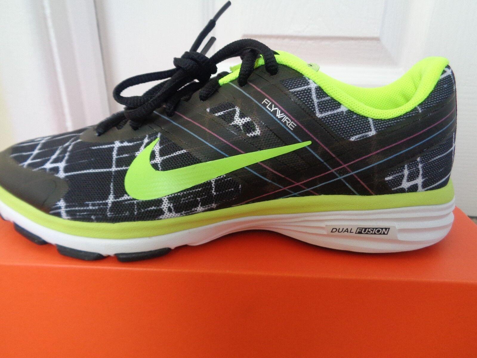 Nike Dual Fusion Tr 2 Print Mujer Zapatillas 631661 003 nos 7 Nuevo + Caja