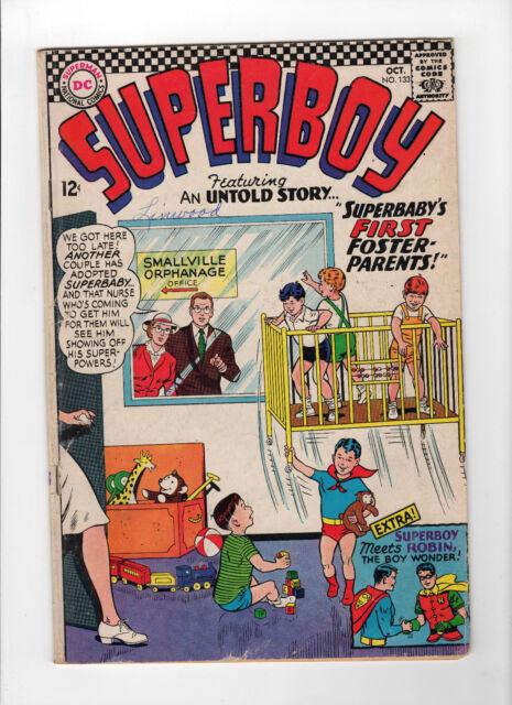 Superboy #133 (Oct 1966, DC) - Good-