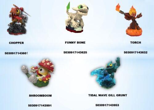 Skylanders TRAP TEAM Wave 1 Single Figures Characters - BNIP