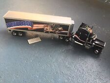 Franklin Mint Peterbilt Tractor And Refrigerated Trailer 1:32 Scale NO Box