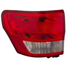 Tail Light Rear Driver Assembly Fits 2011 2013 Jeep Grand Cherokee