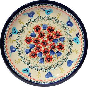 "Polish Pottery Dinner Plate 11"" GU1014/214art from Zaklady Boleslawiec"