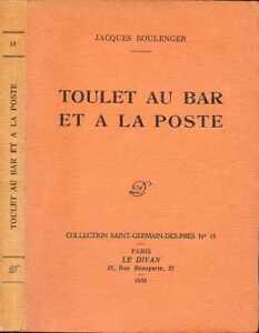 Jacques-Boulenger-TOULET-AU-BAR-ET-A-LA-POSTE-1935