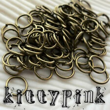 400 6mm Gold Plated Jumprings Open Jump Rings