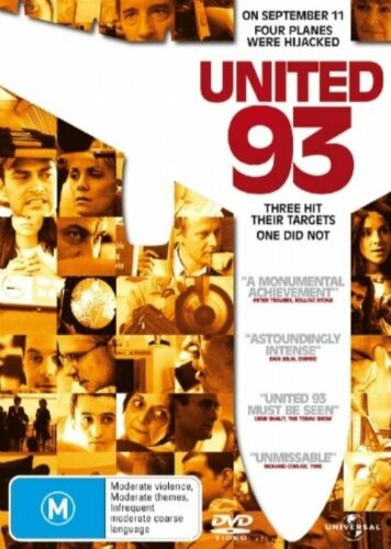 1 of 1 - United 93 (DVD, 2006) R4 PAL NEW FREE POST