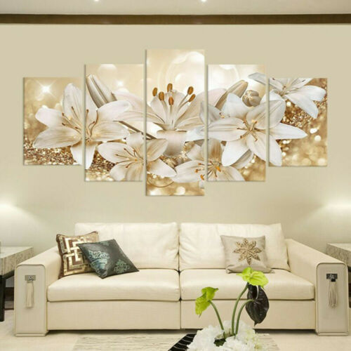 Canvas Print Wall Hangings Painting Photo Pictures Art Home Decor Floral Flower
