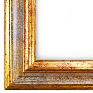 mit Acryl-Glas entspiegelt FW23 Echtholz Bilderrahmen 85 x 65,5 cm Massiv Holz