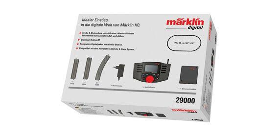 H0 29000 Set di Partenza Digitale con Mobile Station e Pista Ovale Nuovo