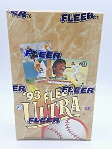 1993-Fleer-Ultra-Baseball-Series-1-Box-Factory-Sealed