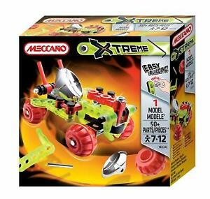 NEW-MECCANO-XTREME-VEHICLE-MODEL-50-PIECES-1822A
