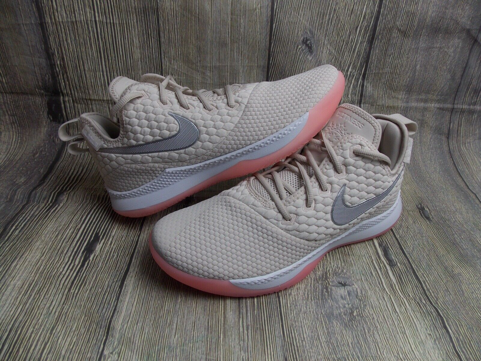 NIKE LIBRON WITNESS III MENS BASKETBALL TRAINERS BOOTS BN 9UK SNEAKERS OREWOOD
