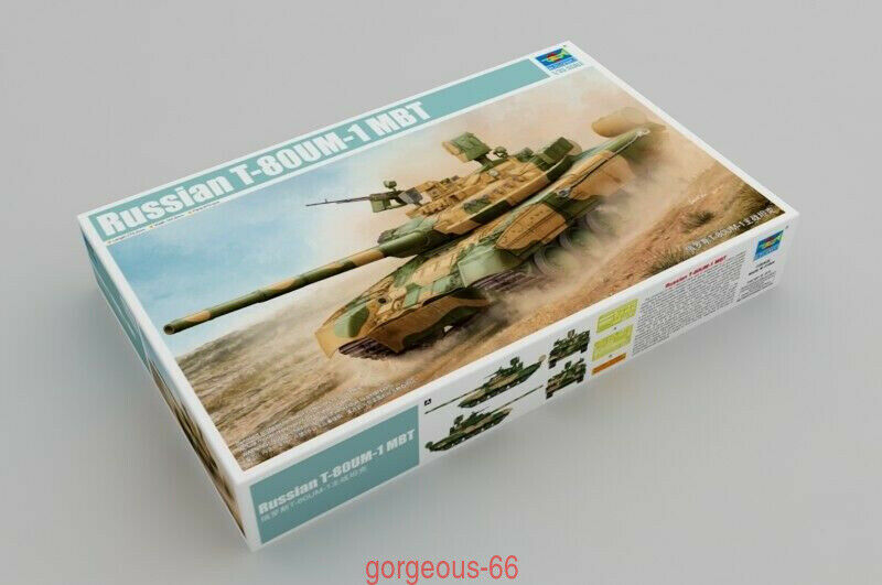 Trumpeter 1 35 09526 Russian T-80UM-1 Main Battle Tank New