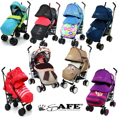 iSAFE Limited Edition Stroller,Buggy,Pushchair Many Designs! Bumper Bar