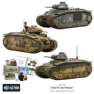Warlord Games Bnib Char B1 Bis Peloton Wgb-fi-402015501 5060393707813