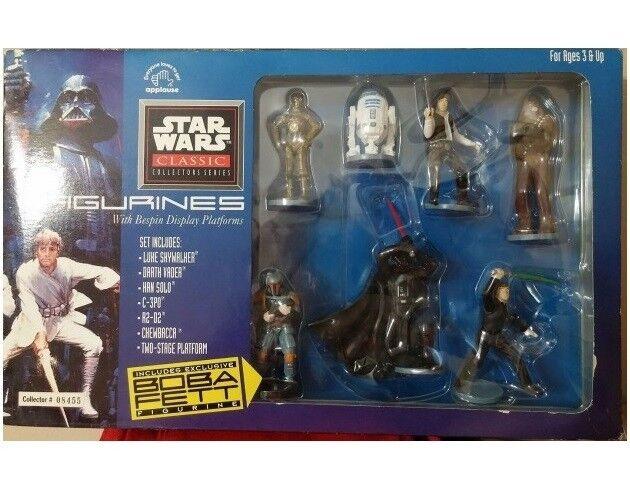 STAR WARS classic collector series set   Luke Skywalker Darth Vader Han Solo