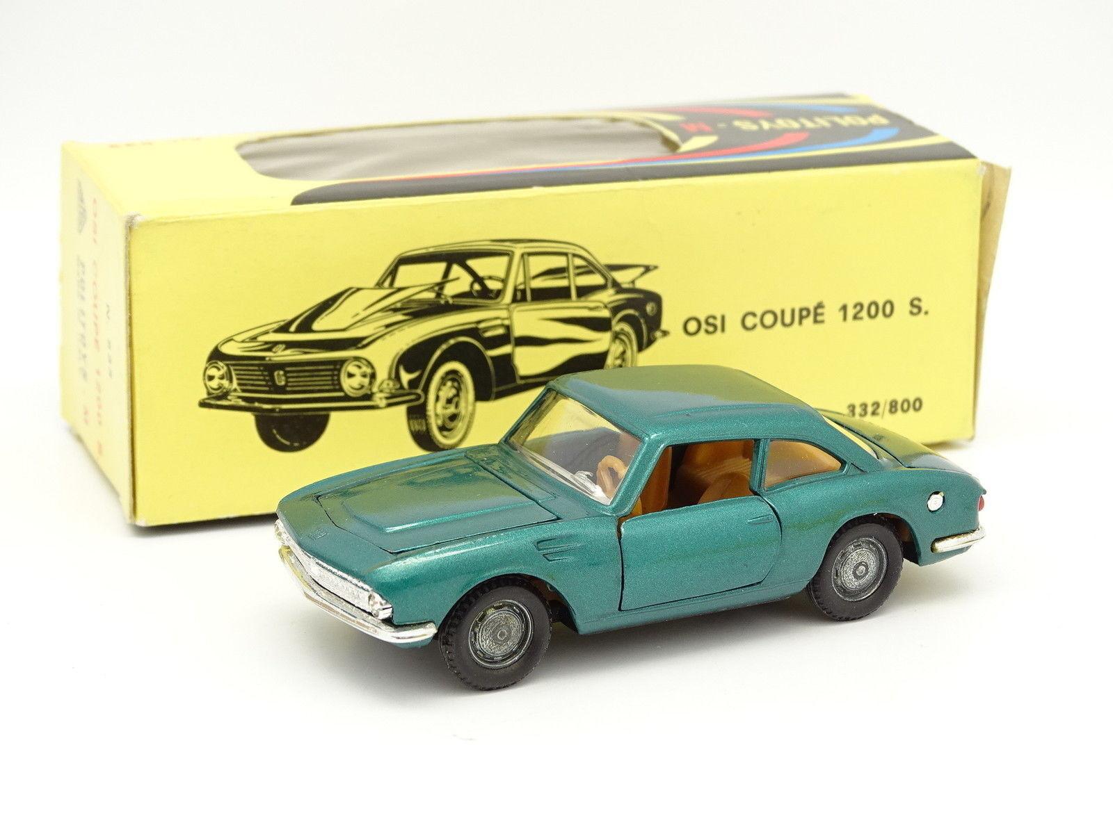 Politoys 1   43 - osi - coupé 1200 s 533 Grüne