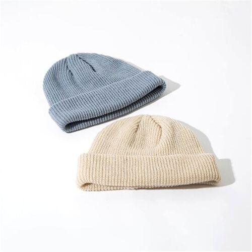 Men Women Slouch Baggy Oversized Winter Warm Ski Rib Knit Beanie Hat Cap hi