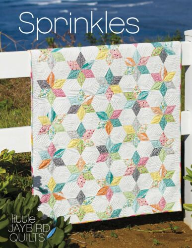 Sprinkles Baby Quilt Pattern ~ Julie Herman ~ uses Jaybird Quilts Sidekick ruler