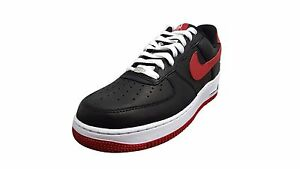 official photos 5f1e2 44b76 Nike Air Force 1 Low Retro Black/Varsity Red-White (845053 001) | eBay
