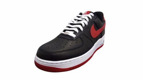 Nike Air Force 1 Low Retro Black//Varsity Red-White 845053 001