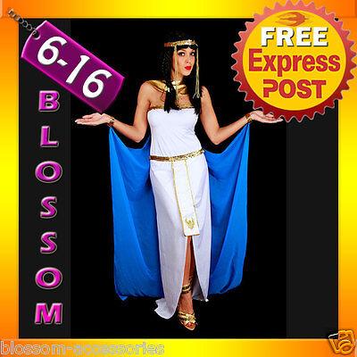 G21 Ladies Cleopatra Egyptian Goddess Fancy Dress Halloween Costume & Headband