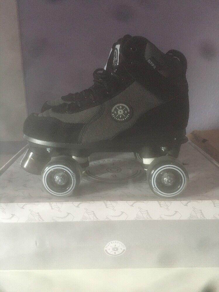 BTFL LUCA Rollschuhe Rollskates Schwarz Schwarz Rollskates Gr:wählbar neu in Karton 587883