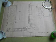 Zeichnung - Bauteile für Türe