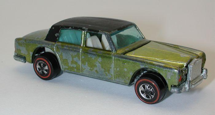 suministro directo de los fabricantes rojoline Hotwheels amarillo 1969 Rolls Royce Royce Royce plata sombra oc9417  los nuevos estilos calientes