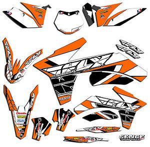 NitroMX Graphic Kit for KTM SX 50 SX50 2009 2010 2011 2012 2013 2014 2015 Decals
