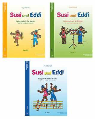 Geigenschule für Kinder Susi und Eddi Band 3