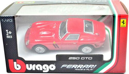 Ferrari 250 Gto Rojo Escala 1:43 de bburago