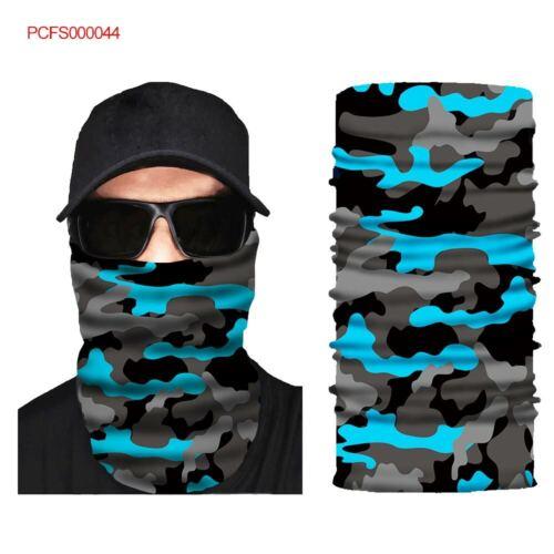 Motors Colorful Face Shield Sun Mask Neck Balaclava Scarf Headwear UV Cycling