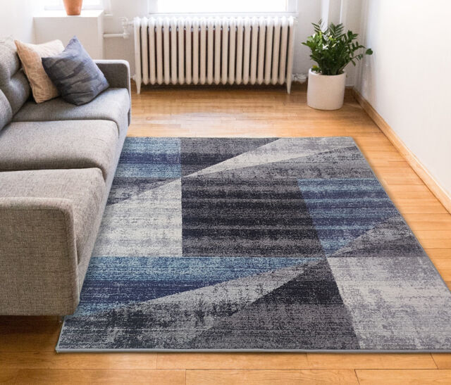 Darcy Brown Gold Geometric Rug Rug Size Runner 1 10 X 7 3 For Sale Online Ebay