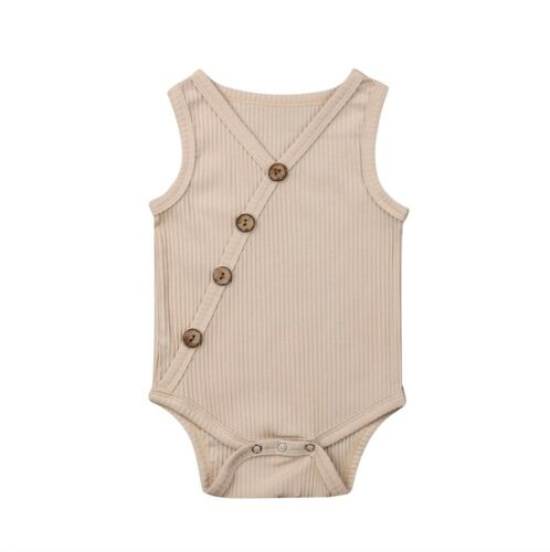 Newborn Toddler Baby Boy Girls Romper Bodysuit Sunsuit Outfit Clothes Playsuit