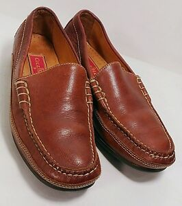748587fa1f2 COLE HAAN Country Brown Leather Slip-On Women s Loafers Size 5B  EUC ...
