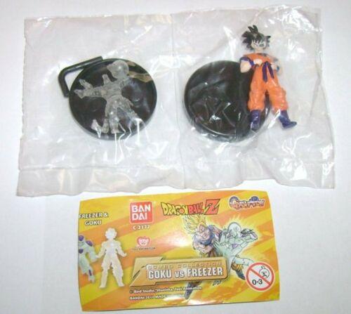 Dragon Ball Z Gashapon Combo Collection Goku e Crilin Clear Bandai