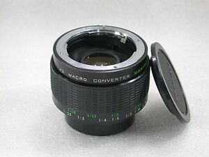 Makinon-MC-X2-MACRO-Teleconverter-Pentax-PK-Fit