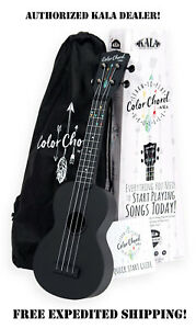 **KALA COLOR CHORD LEARN TO PLAY SOPRANO UKULELE PACKAGE W/FREE ONLINE LESSONS**
