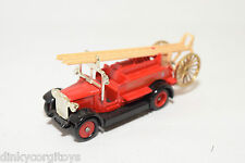 DAYS GONE OLDTIMER FIRE ENGINE LONDON FIRE LADDER TRUCK NEAR MINT CONDITION