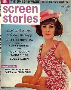Screen-Stories-magazine-September-1961-excellent