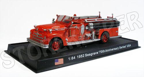 USA 1952-1//64 Seagrave /'70th Anniversary Series/' No19 Fire Truck