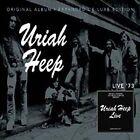 Live by Uriah Heep (CD, Apr-2010, 2 Discs, Sanctuary (USA))
