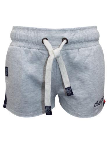 Tokyo Laundry Grey Cotton Rich Sports Stripe Runner Shorts