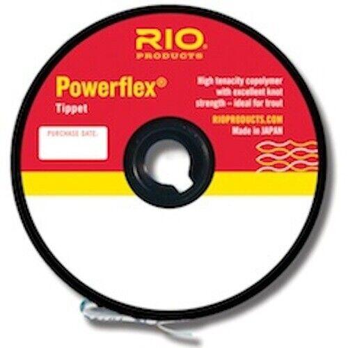 Rio Powerflex Tippet Material 30 yd 5X Spool Fly Fishing