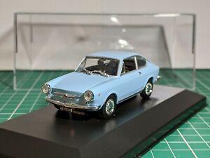Fiat 850 Coupe Azul 1/43 Norev Muy Raro