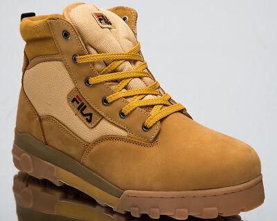 Fila Grunge Mid Men Sneakers Chipmunk 2018 High Top Lifestyle Shoes 1010107 EDU | eBay