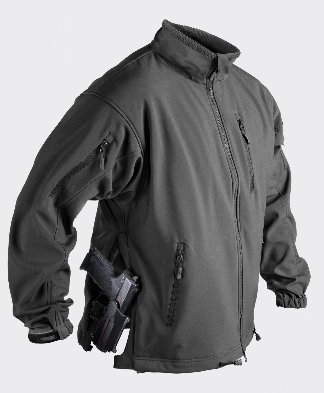 Helikon Tex QSA Jackal SOFT SHELL SHARK SKIN Softshell Jacke Jacket schwarz XSmall