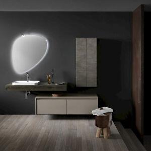 Ink NK01 – Mobile luxury arredo bagno L 212 cm personalizzabile ...