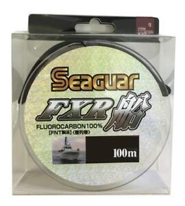 NEW-Seaguar-FXR-Boat-100m-30lb-8-Clear-0-470mm-Fluorocarbon-Leader-Line-Japan