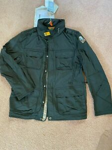 Authentic-Parajumpers-Mens-XXL-Full-length-Man-Jacket-Grey-Brand-New-w-Tags